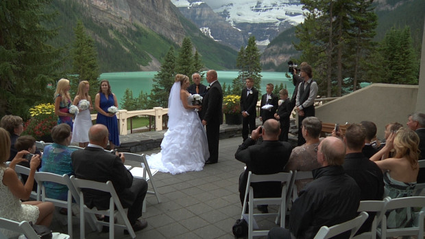 Fairmont Chateau Lake Louise Weddings Mountainweddingvideos Com