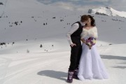 Wedding-at-Sunshine-Ski-Resort