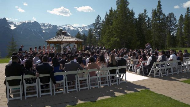 Silvertip Canmore wedding video